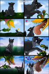2009 to 2012 (mini comic redo) by NinjaKato