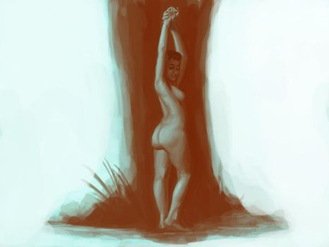 Figure painting vignette by JawadSparda