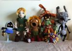 LoZ Amigurumi Collection by aphid777