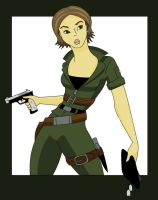 GI Joe: Lady Jaye by LittleJackalope