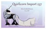 Quirlicorn Custom Import 237 by Astralseed