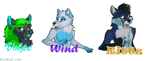 Badges by WindWo1f