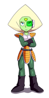 Scouter Peridot by AngeliccMadness