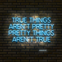 True Things by WRDBNR