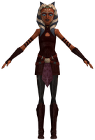 SW Clone Wars Adventures - Ahsoka Tano (S3 Outfit) by TRDaz