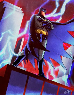 25TH Anniversary of Batman: The Animated Series by eldeivi