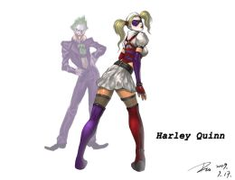 Harley Quinn by Dio-Dong