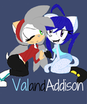 Val and Addison colored by shay-shay125