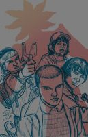 Stranger Things Fan Art by Abramelin