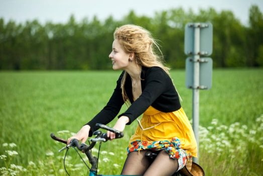 Bicykle by Anna-April