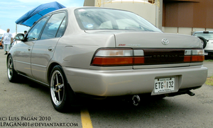JDM Toyota Corolla BZ Touring  by Mister-Lou