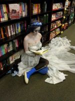 The Corpse Bride- lovely books by CosplayQueendom