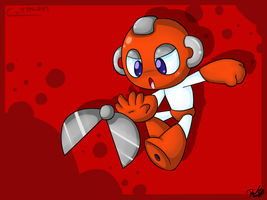 Cutman by RitaRandomArtist