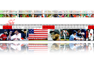 2010 Red Sox:  July by wrennette