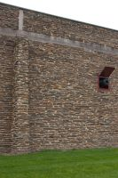 Fortified wall with canons 2 by steppelandstock