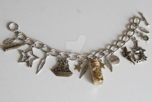 Second Star to the Right Charm Bracelet by Amarante-Ai