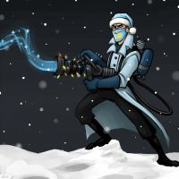 Christmas Medic by AtomicRay