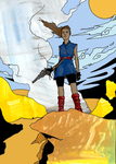 Kiah - Scouting The Wastes by InTheLostWoods
