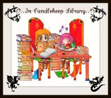 In Candlekeep Library by SandraGH
