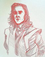 Red Loki by AmberPalette