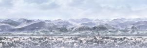Winter Matte Painting by kayafulmaniac