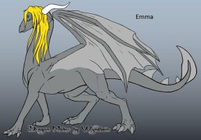 Emma the Dragoness 2 by trainman666
