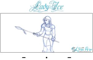 Lady Ice - Mom Rough 01 by LPDisney