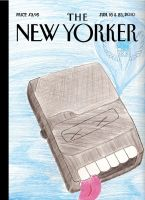 new yorker book cover by Shen17000