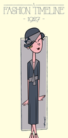 A Fashion Timeline (1927) by Cool-Hand-Mike