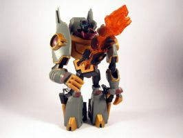 Animated grimlock (Robot mode) by scoobsterinc