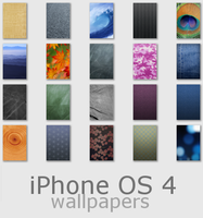 iPhone OS 4 Wallpapers by RicardoLuis