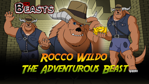 Commission - Beasts Wallpaper 10 - Rocco Wildo by BennytheBeast