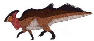 Parasaurolophus walkeri by TheMorlock