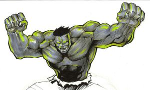 hulk greeyn...? by yosse