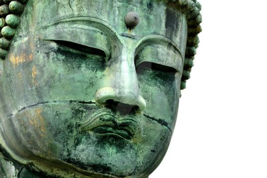 The Face of Buddha by stratamander