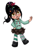 Vanellope by Nefairyious