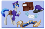 Character Card - Stamp Card by TechTalkPony