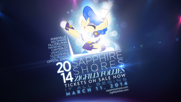 Sapphire Shores Zigfilly Follies 2014 Tour by AdrianImpalaMata
