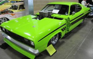 70 Plymouth funny car by zypherion