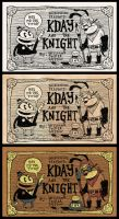 Kday and the Knight COVER by Papposilenos