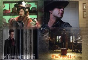 Mad Hatter/Jefferson Wallpaper by callyrose
