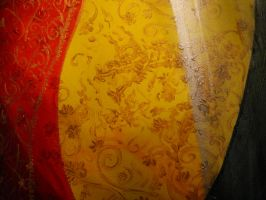 Layers and Patterns Painting detail 2 by MelodicInterval