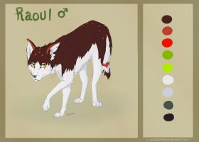 Raoul Reference Sheet by SparksOfTheStars