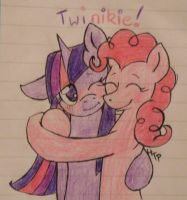 Pink and Purple by HaterThePony