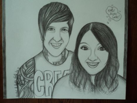Austin Carlile and Rachel! by Freezingforheat