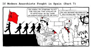 If Modern Anarchists Fought in Spain (Part 7) by RednBlackSalamander