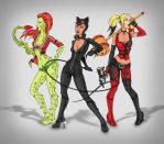 Arkham City Sirens by CyanSoul