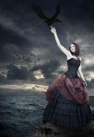 Morrigan, Lady of Crows by vision-of-shadows