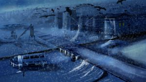 Frozen London Matte painting by GDSWorld