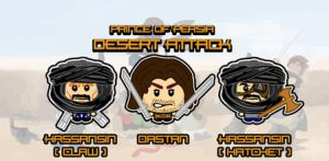 Prince of Persia-Desert Attack by Jebediahs